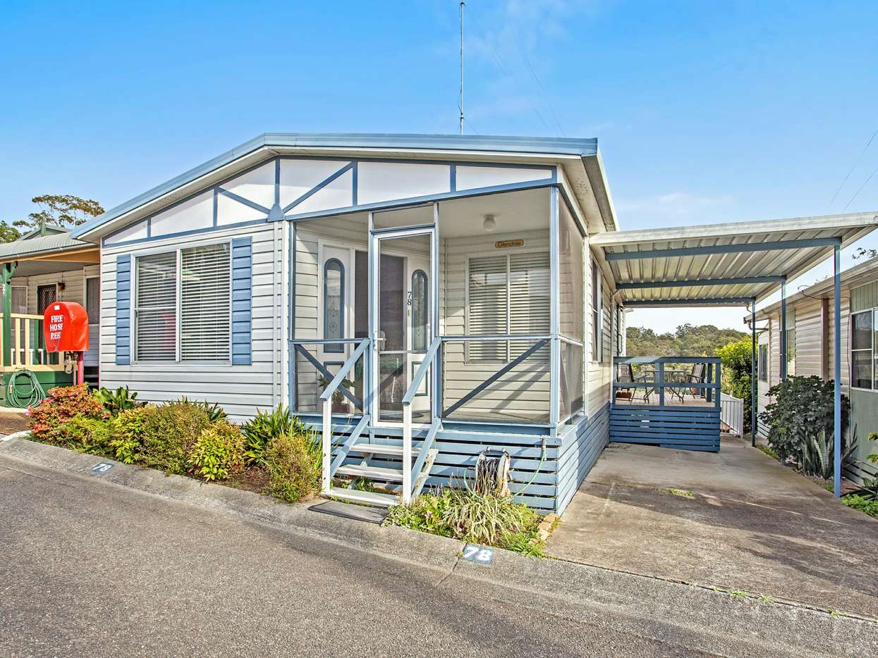 Main view of Homely retirement listing, Site 78/601 Fishery Point Road, Bonnells Bay, NSW 2264
