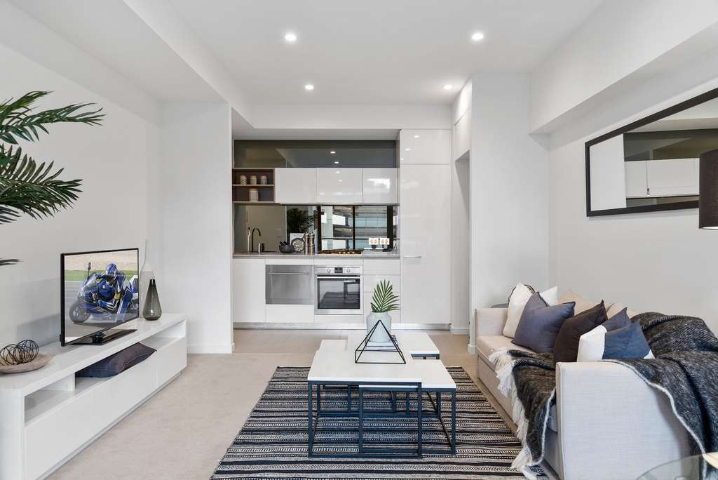 Main view of Homely apartment listing, 421/850 Bourke Street, Waterloo, NSW 2017