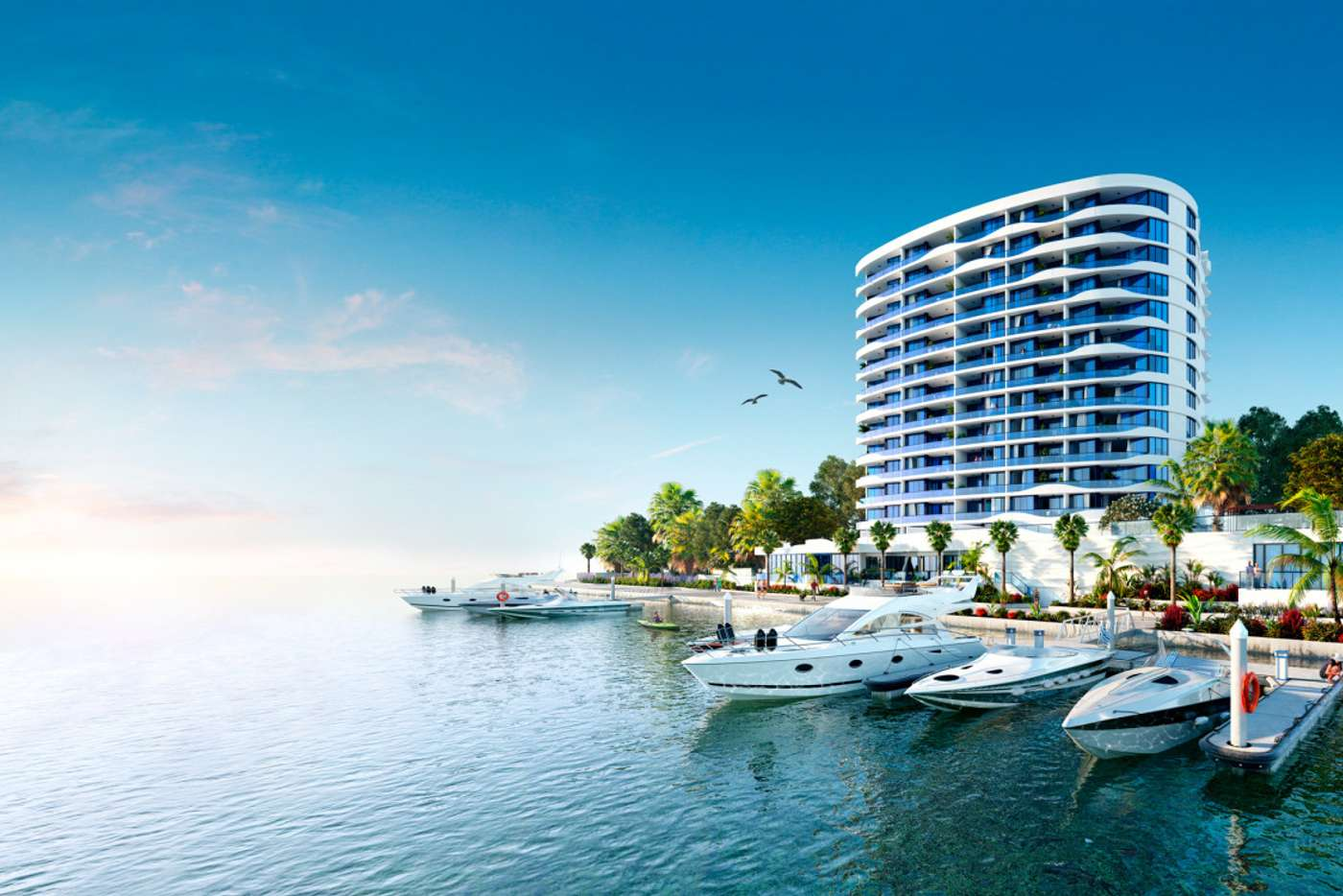 Main view of Homely unit listing, 1/5 Harbour Side Court, Biggera Waters QLD 4216