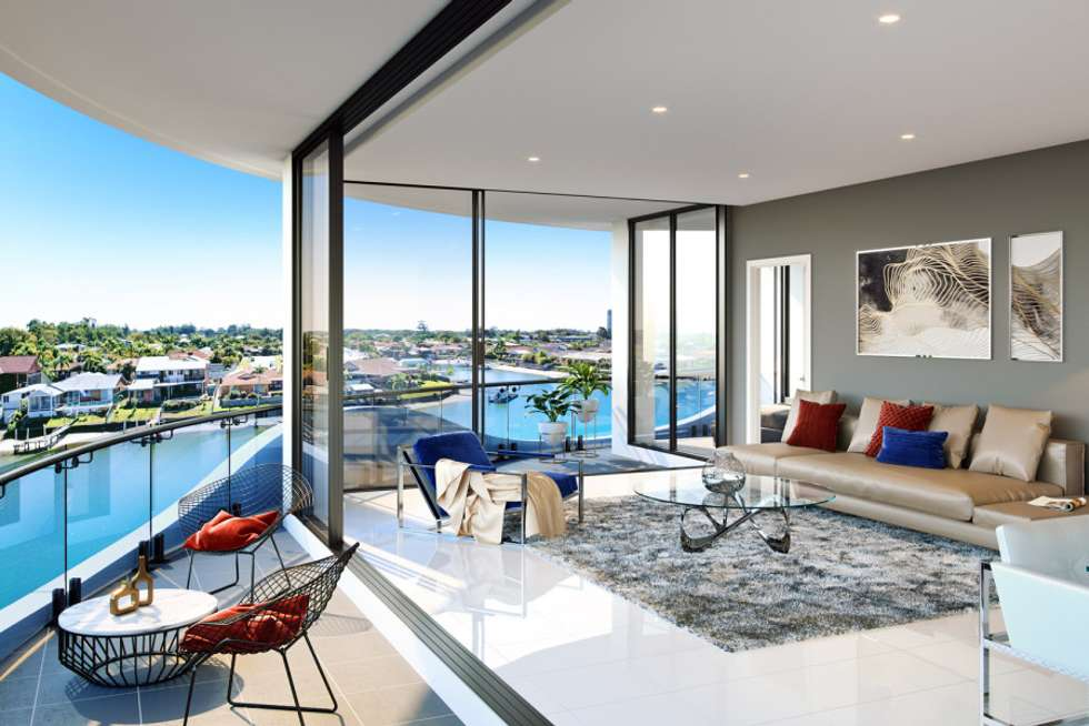 Second view of Homely unit listing, 1/5 Harbour Side Court, Biggera Waters QLD 4216