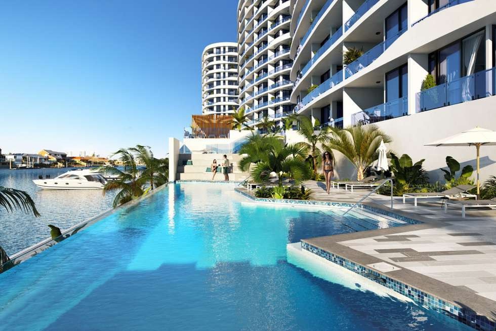 Third view of Homely unit listing, 1/5 Harbour Side Court, Biggera Waters QLD 4216