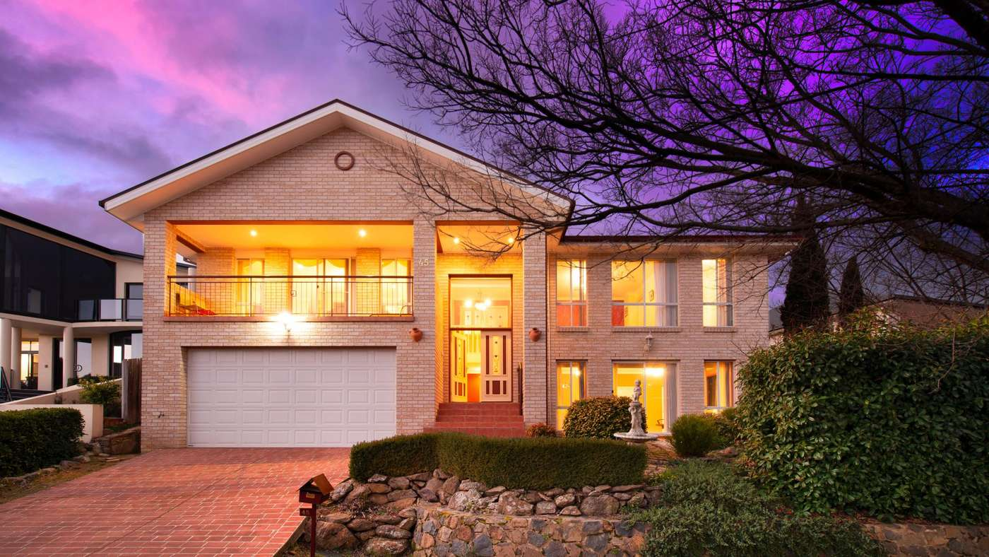 Main view of Homely house listing, 45 Diamond Street, Amaroo, ACT 2914