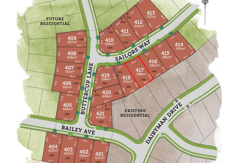 Second view of Homely residentialLand listing, Lot 417 Sailors Way, Raymond Terrace NSW 2324