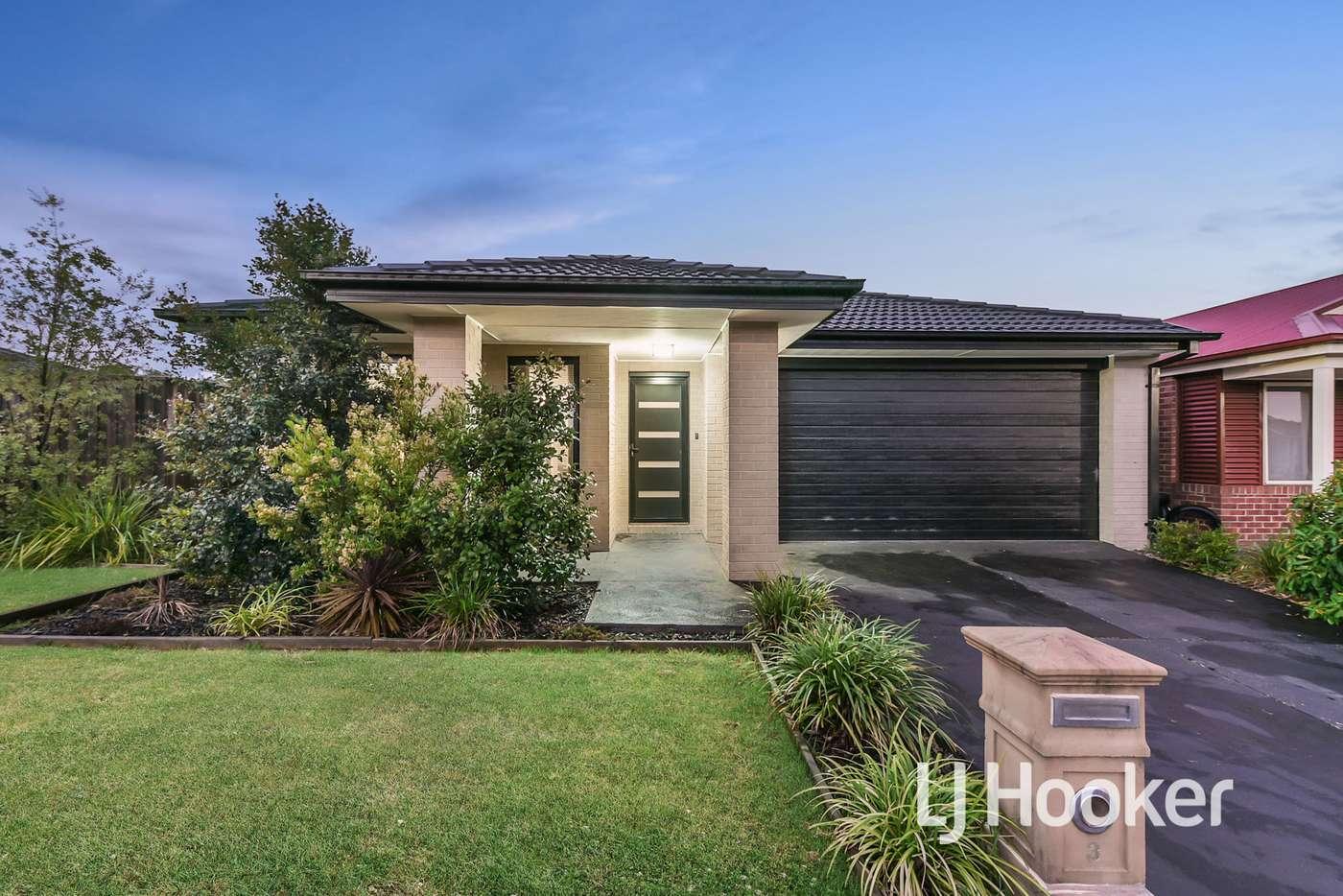 Main view of Homely house listing, 3 Tribuzi Close, Pakenham VIC 3810