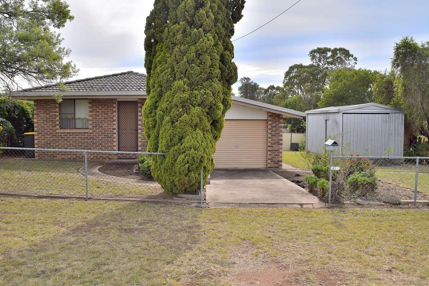 Main view of Homely house listing, 21 Baguley Street, Warwick QLD 4370