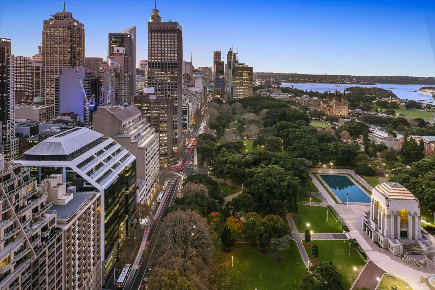 Main view of Homely apartment listing, 3201/130 Elizabeth Street, Sydney NSW 2000
