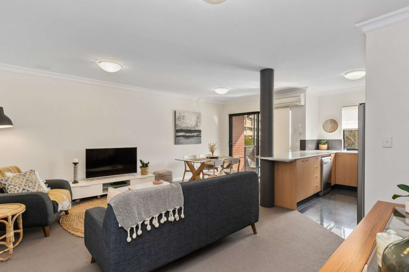 Sixth view of Homely apartment listing, 23/7 Bronte Street, East Perth WA 6004