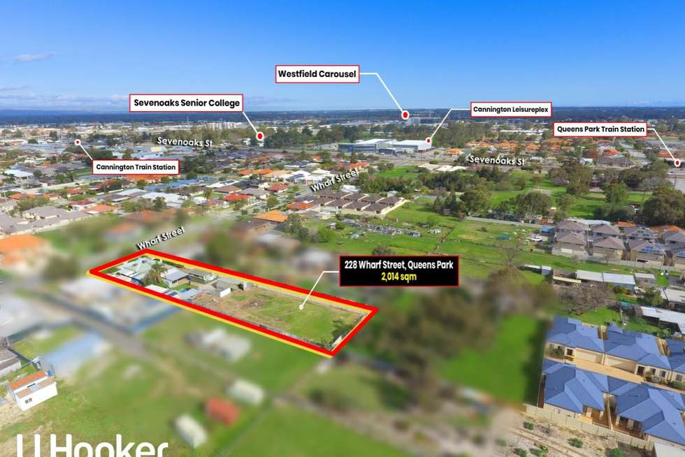 Second view of Homely house listing, 228 Wharf Street, Queens Park WA 6107