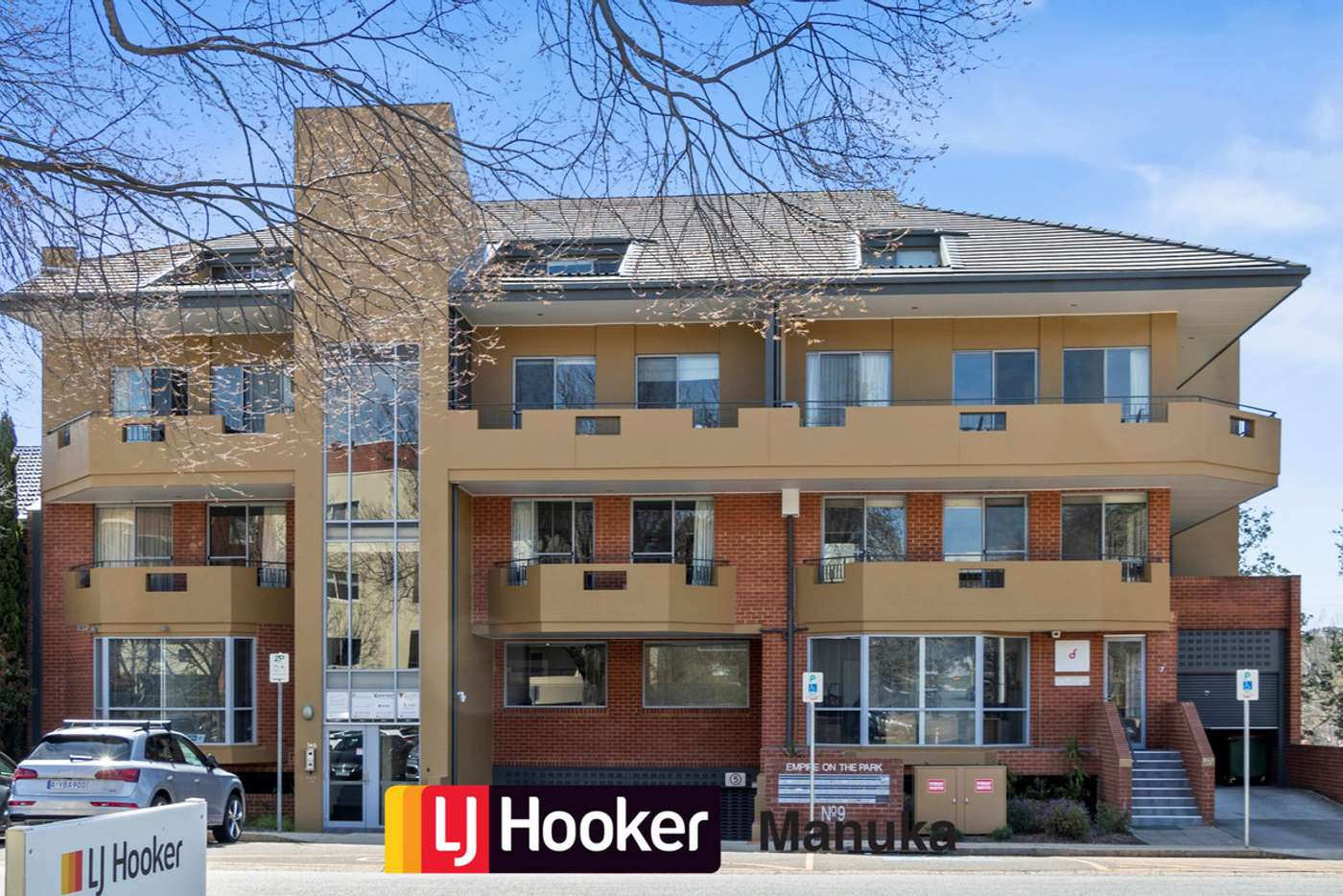 Main view of Homely unit listing, 9/9 Fitzroy Street, Forrest ACT 2603