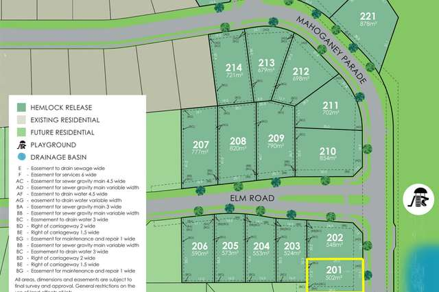 Lot 201 Eastwood Estate, Goonellabah NSW 2480