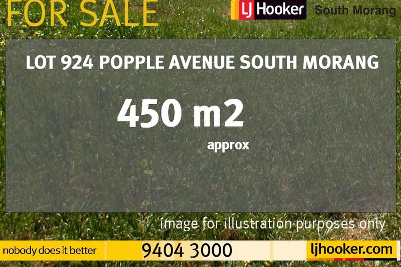 Main view of Homely residentialLand listing, Lot 924 Popple Avenue, South Morang VIC 3752