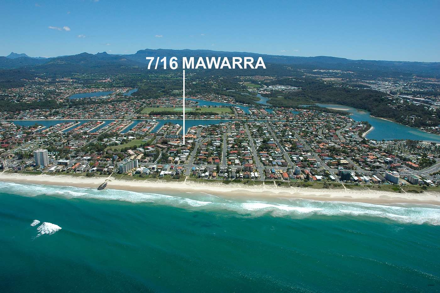 Main view of Homely unit listing, 7/16 Mawarra Street, Palm Beach QLD 4221