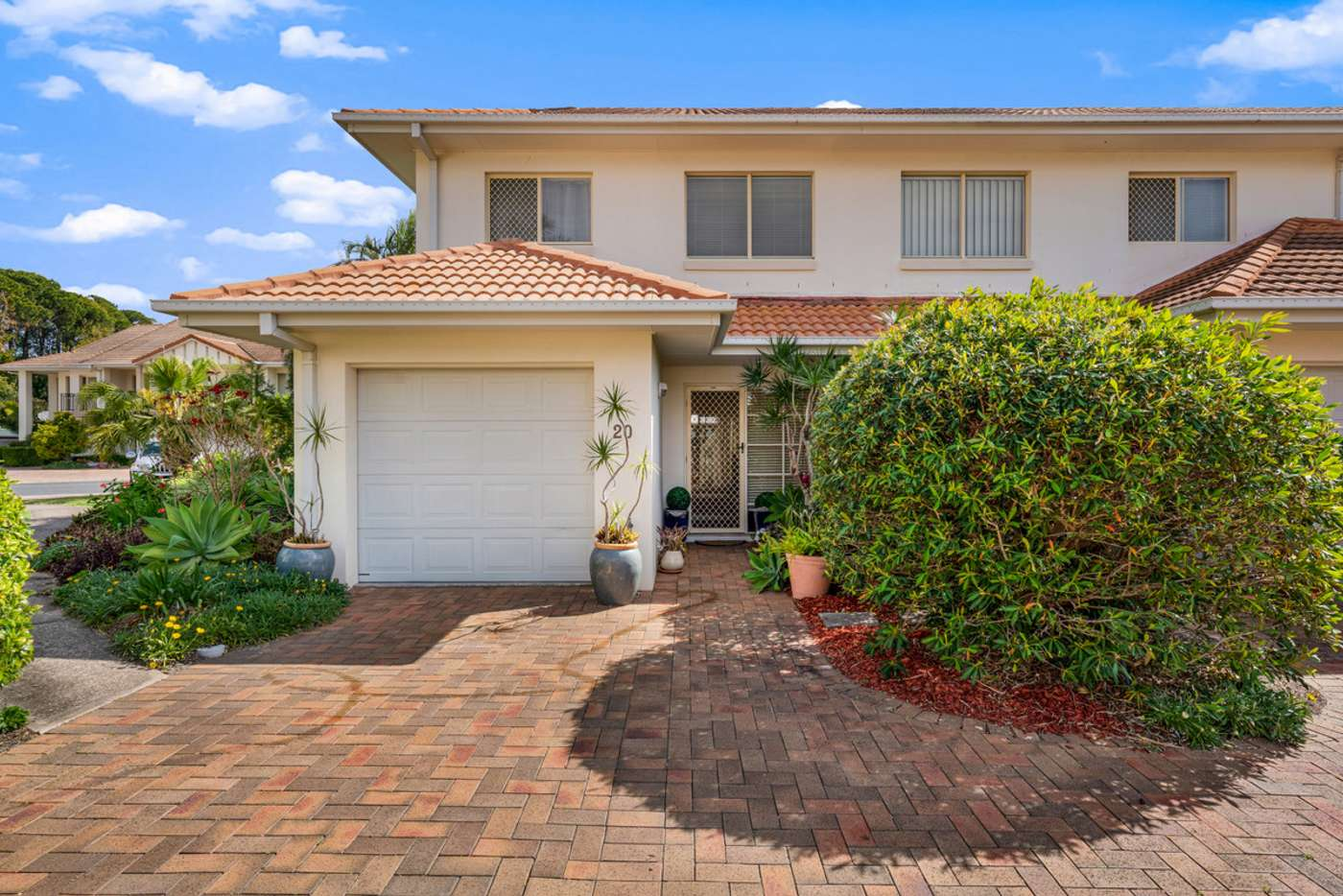 Main view of Homely townhouse listing, 20/60-76 Caseys Road, Hope Island QLD 4212