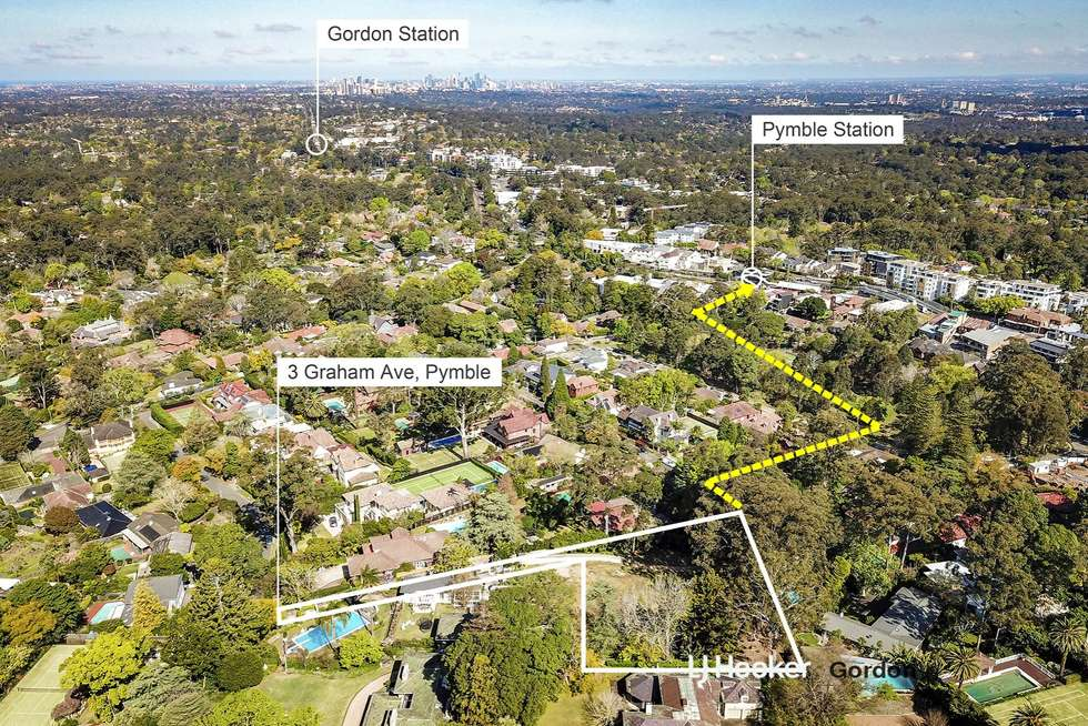 Third view of Homely house listing, 3 Graham Avenue, Pymble NSW 2073