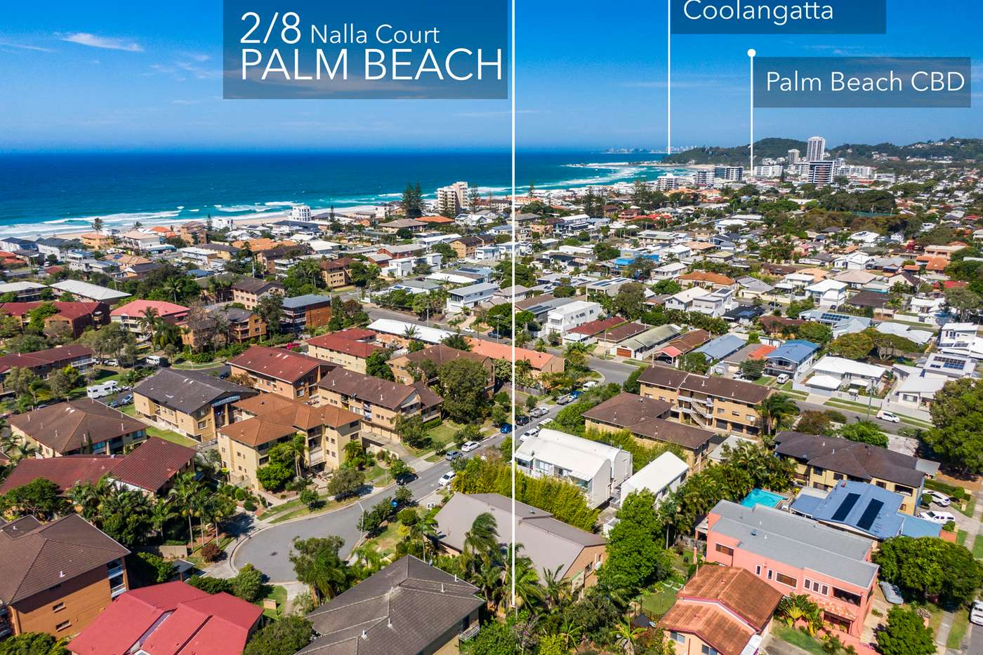 Main view of Homely unit listing, 2/8 Nalla Court, Palm Beach QLD 4221