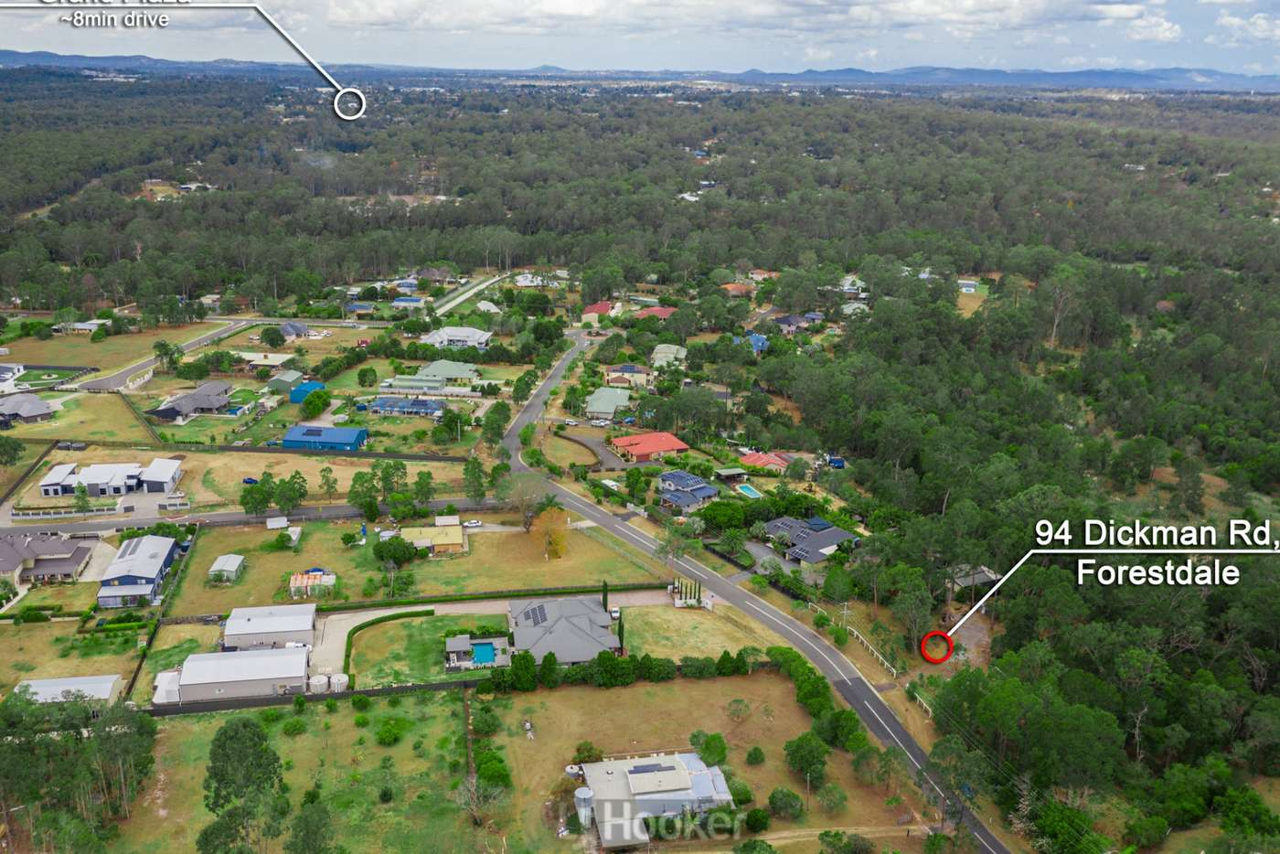 Main view of Homely residentialLand listing, 94 Dickman Road, Forestdale QLD 4118