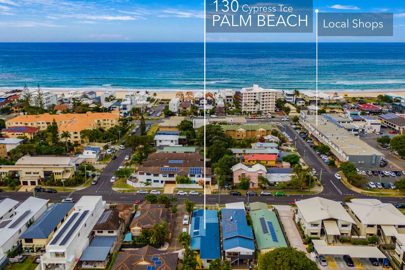 Main view of Homely house listing, 130 Cypress Terrace, Palm Beach QLD 4221