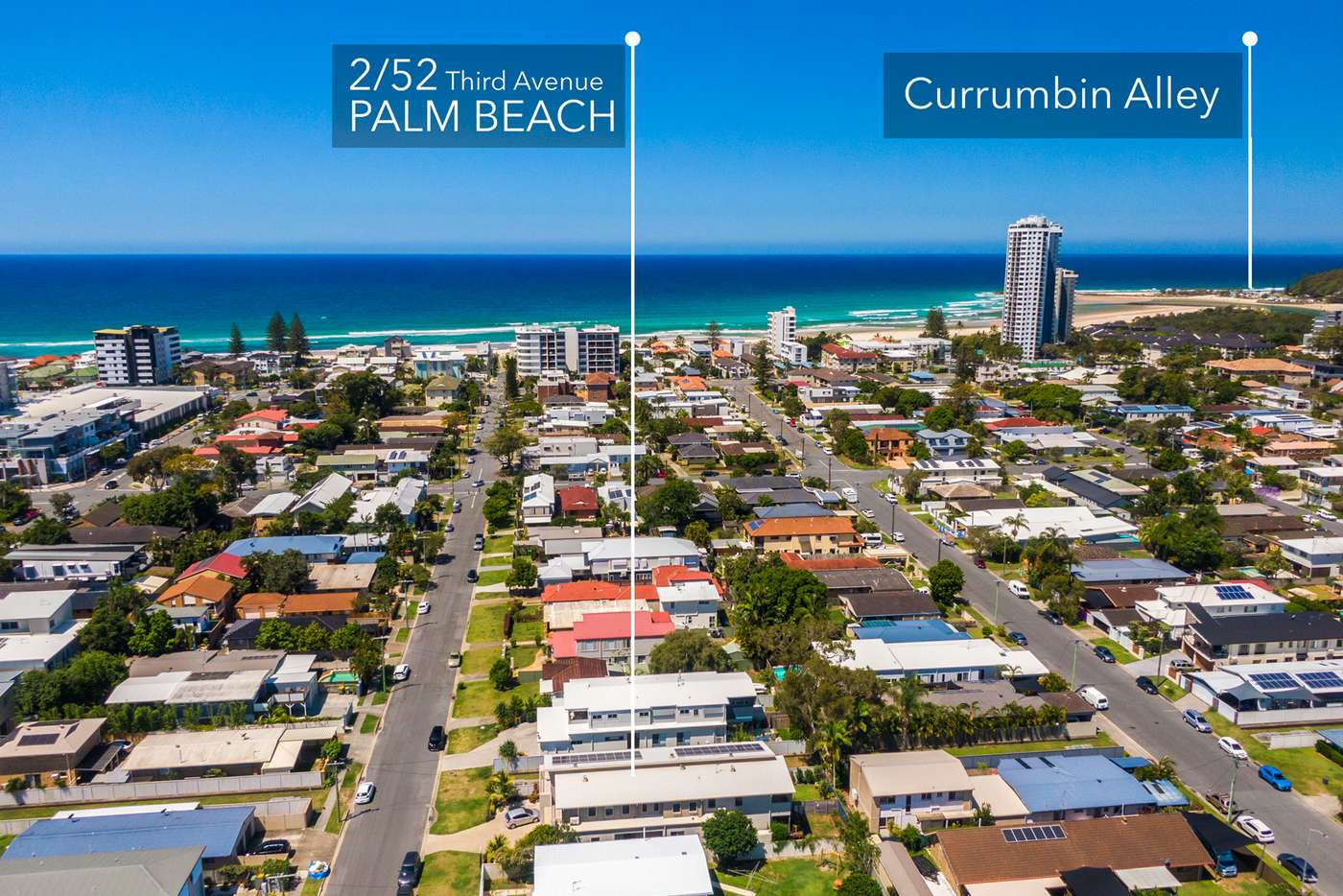 Main view of Homely semiDetached listing, 2/52 Third Avenue, Palm Beach QLD 4221