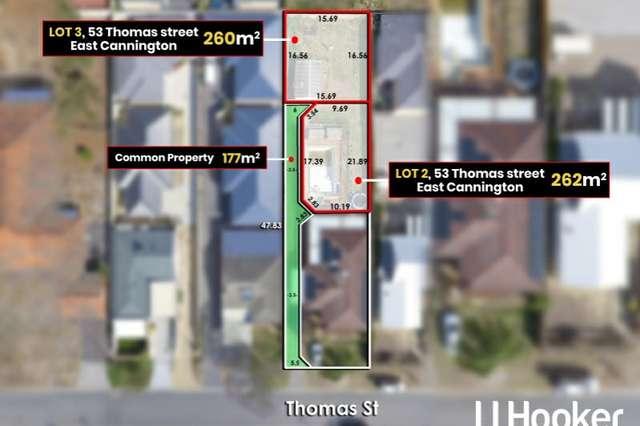 Lot 2 & 3/53 Thomas Street, East Cannington WA 6107