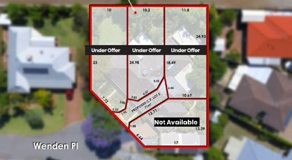 Lot 1-4/16 Wenden Place