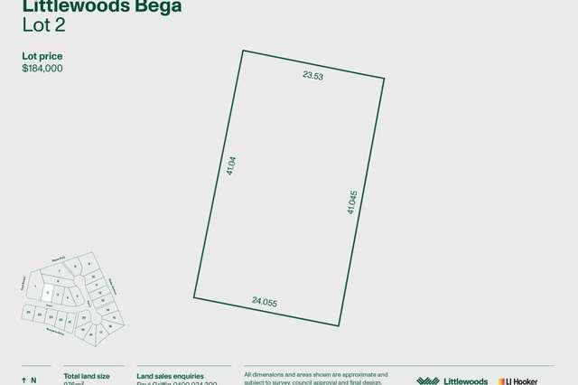 Lot 2 Littlewood Estate, Bega NSW 2550
