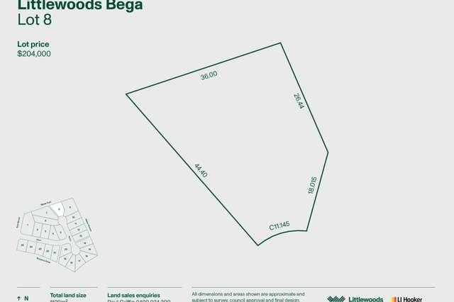 Lot 8 Littlewood Estate, Bega NSW 2550