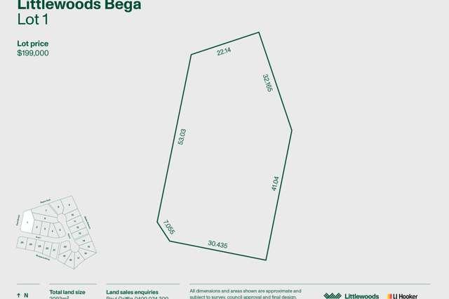 Lot 1 Littlewoods Estate, Bega NSW 2550