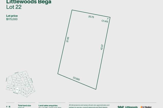 Lot 22 Littlewoods Estate, Bega NSW 2550