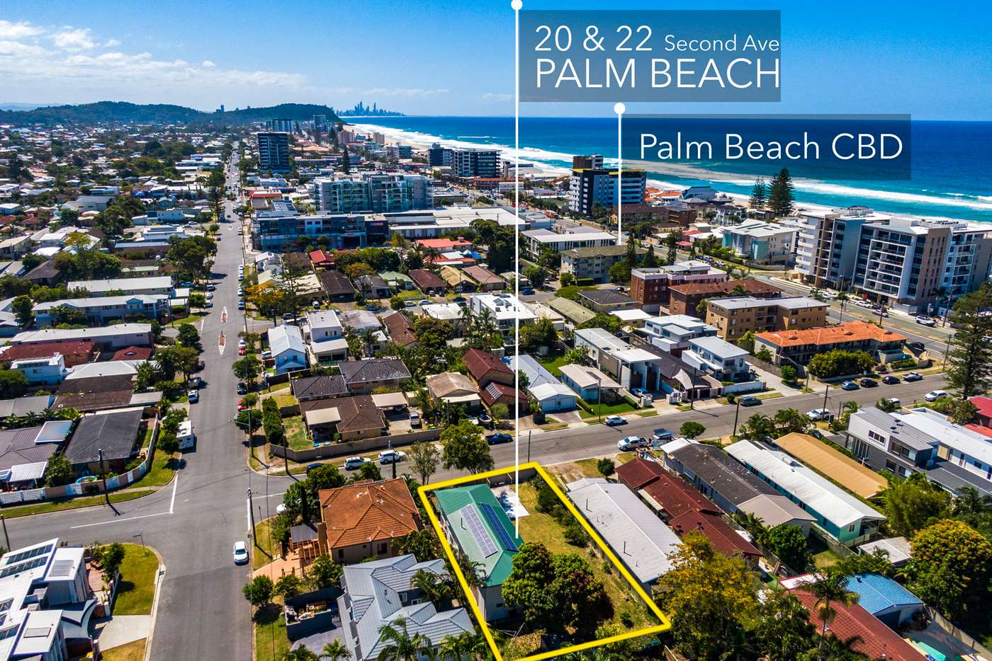 Main view of Homely house listing, 20-22 Second Avenue, Palm Beach QLD 4221