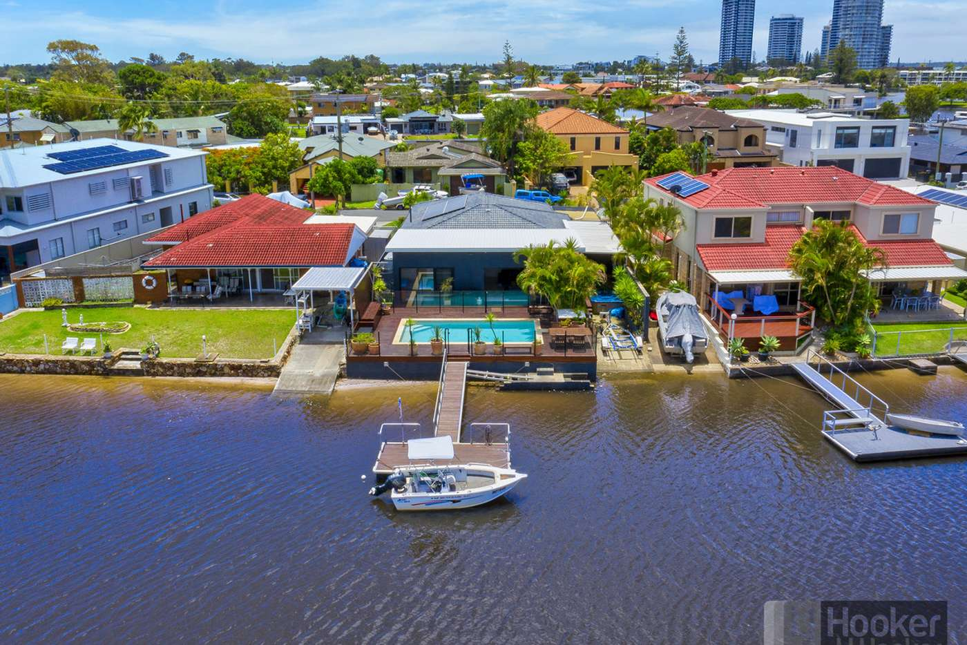 Main view of Homely house listing, 14 Vaggelas Crescent, Biggera Waters QLD 4216