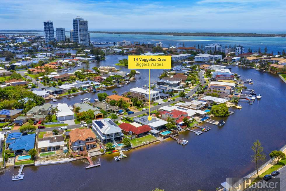 Second view of Homely house listing, 14 Vaggelas Crescent, Biggera Waters QLD 4216