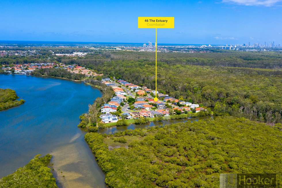 Second view of Homely house listing, 46 The Estuary, Coombabah QLD 4216