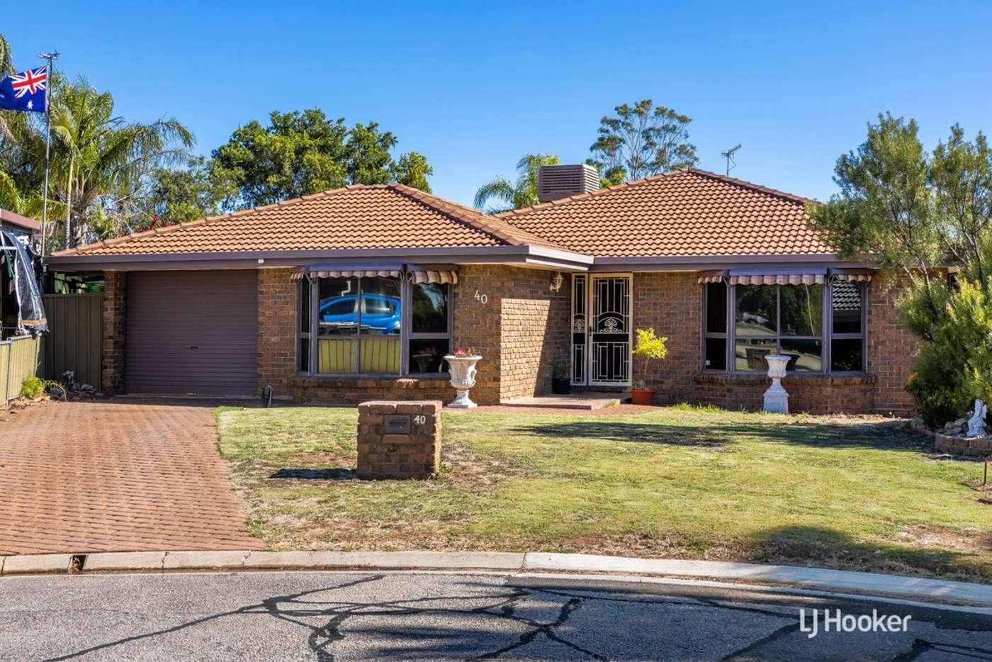 Main view of Homely house listing, 40 Megunya Crescent, Craigmore SA 5114