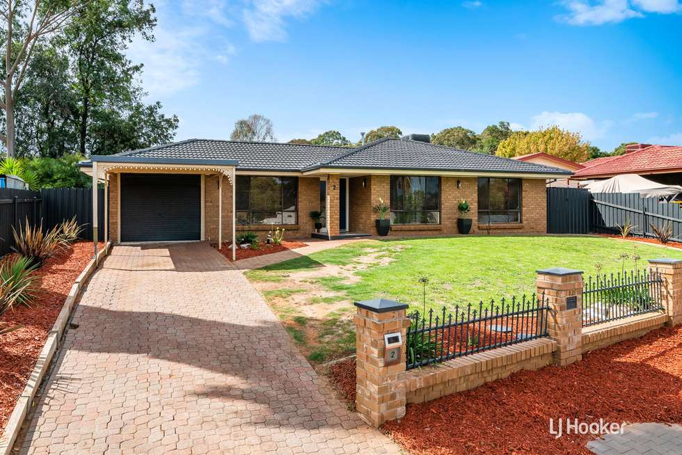 Second view of Homely house listing, 2 Menka Street, Hillbank SA 5112