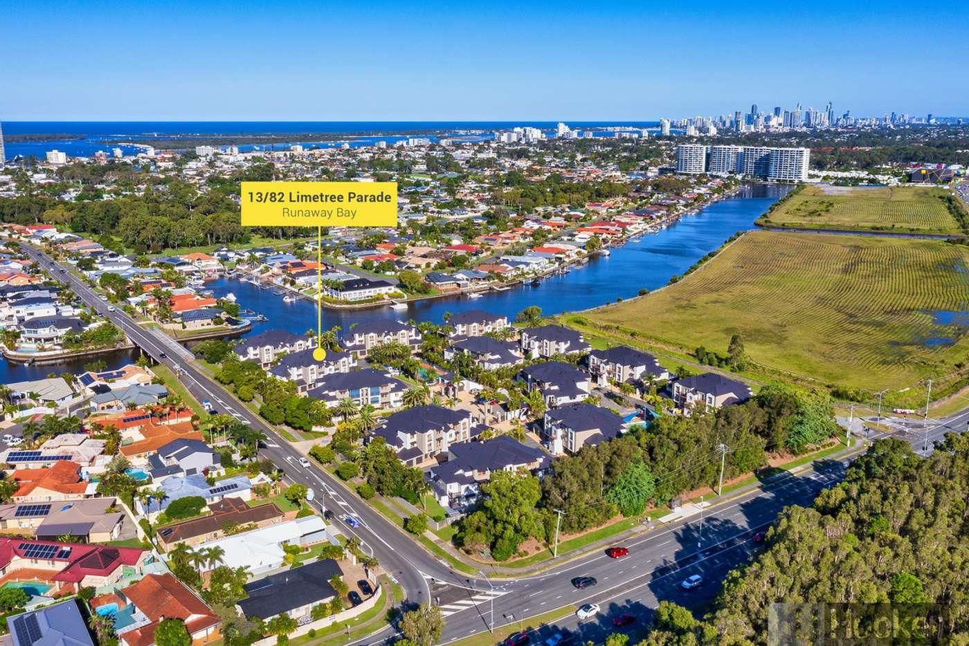 Main view of Homely apartment listing, 13/82 Limetree Parade, Runaway Bay QLD 4216