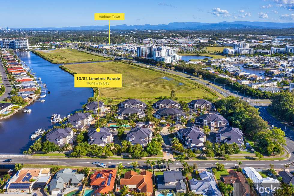 Second view of Homely apartment listing, 13/82 Limetree Parade, Runaway Bay QLD 4216