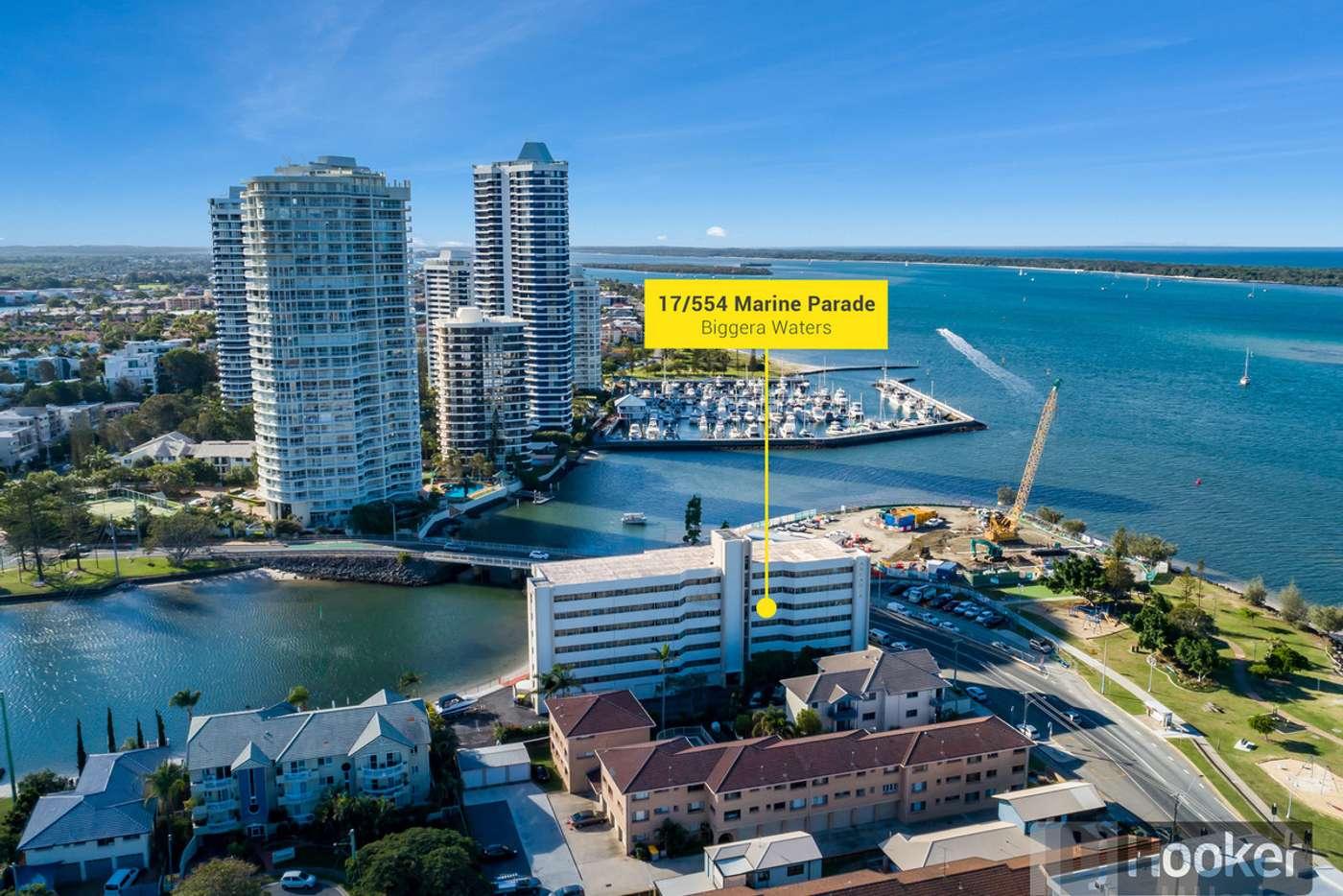 Main view of Homely apartment listing, 17/554 Marine Parade, Biggera Waters QLD 4216