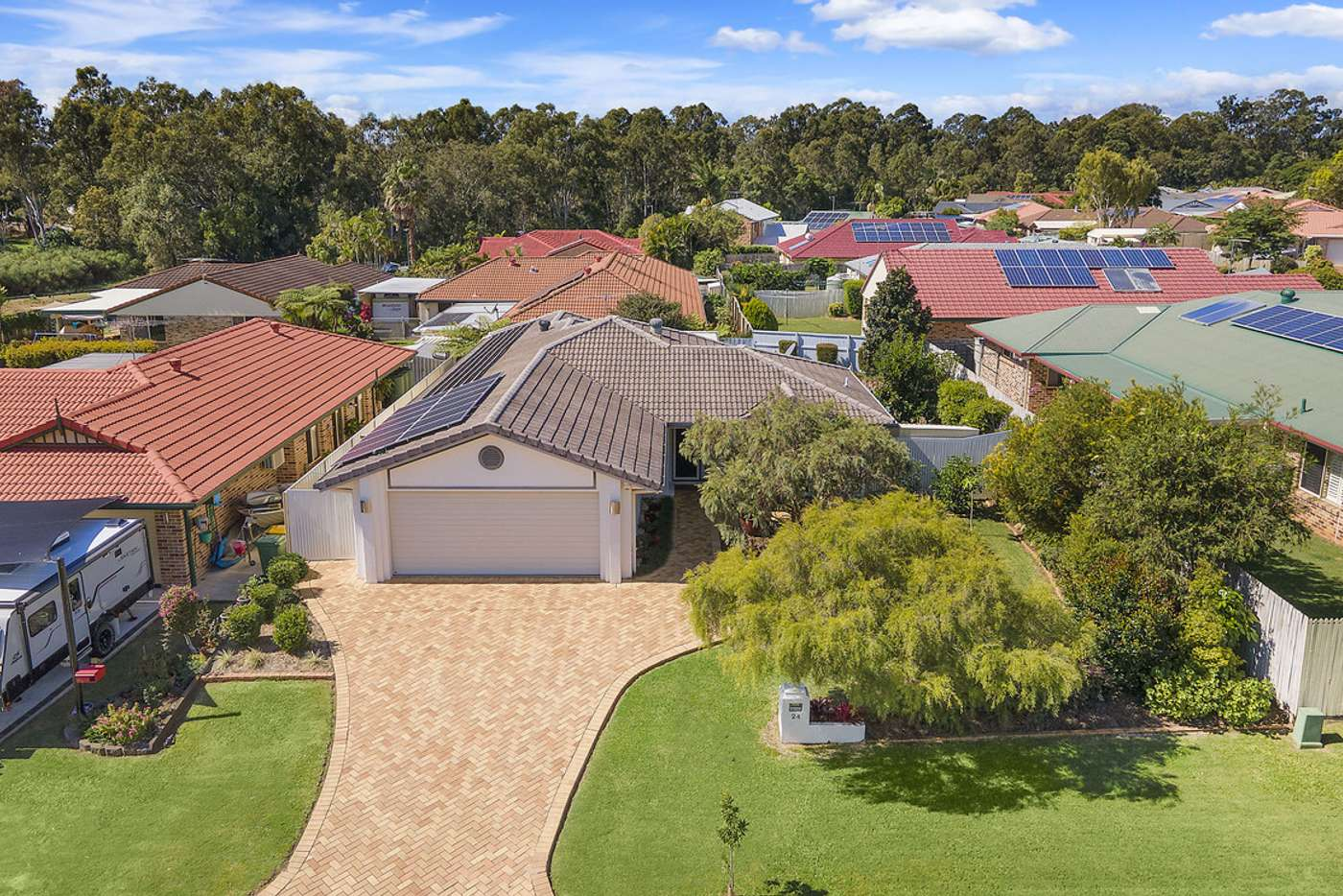 Main view of Homely house listing, 24 Paige Court, Wellington Point QLD 4160