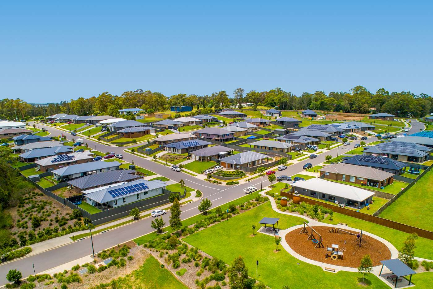 Main view of Homely residentialLand listing, Lot 809 Graziers Parade, Raymond Terrace NSW 2324