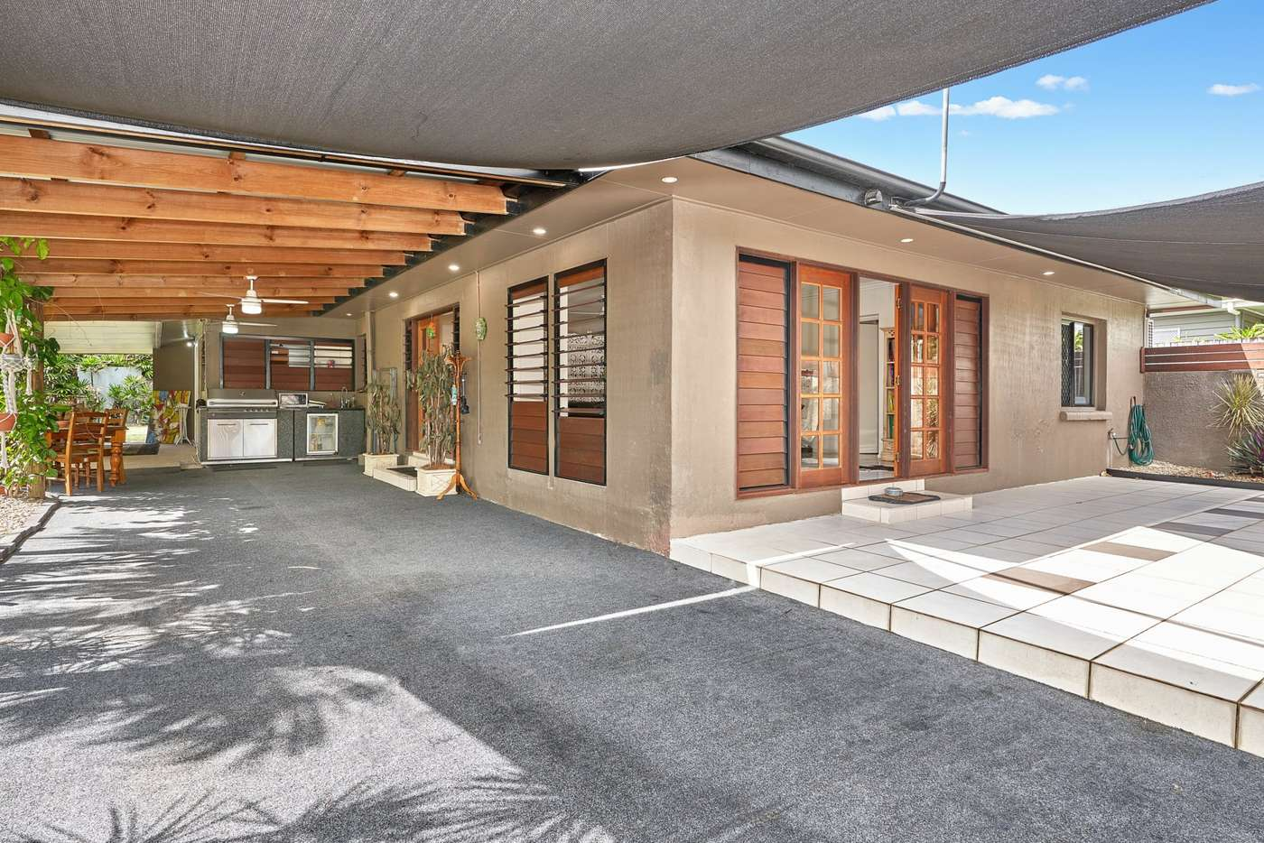 Main view of Homely semiDetached listing, 1/84 Mayers Street, Manunda QLD 4870