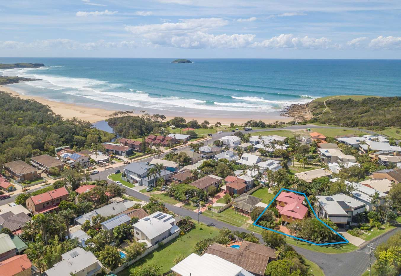 Main view of Homely house listing, 11 Flagstaff Avenue, Emerald Beach, NSW 2456