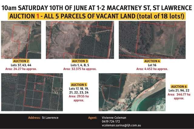 Parcel 2, Settlement Rd, St Lawrence QLD 4707