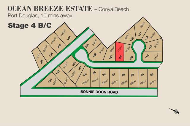 Lot 108 Julaji Close, Bonnie Doon QLD 4873