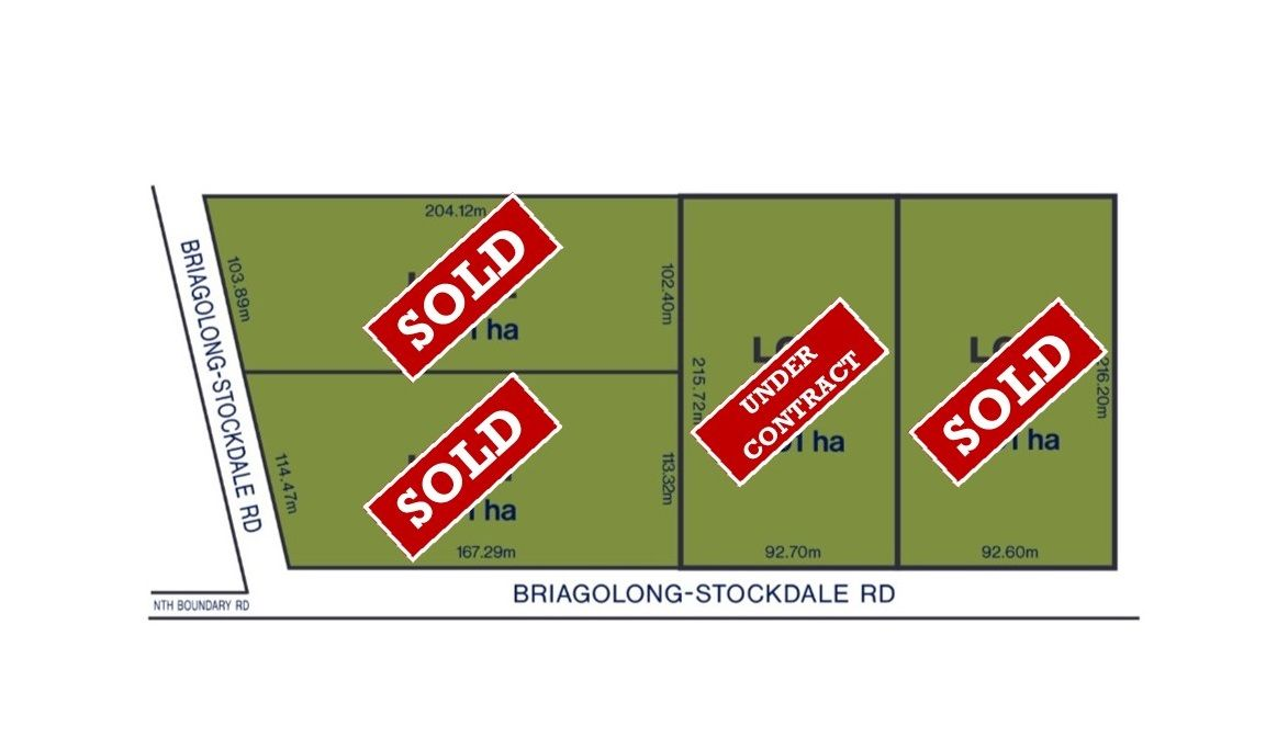 LOT 1, 2, 3 & 4 Briagolong-Stockdale Road