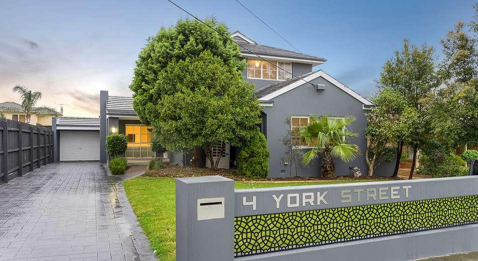 4 York Street, Strathmore VIC 3041