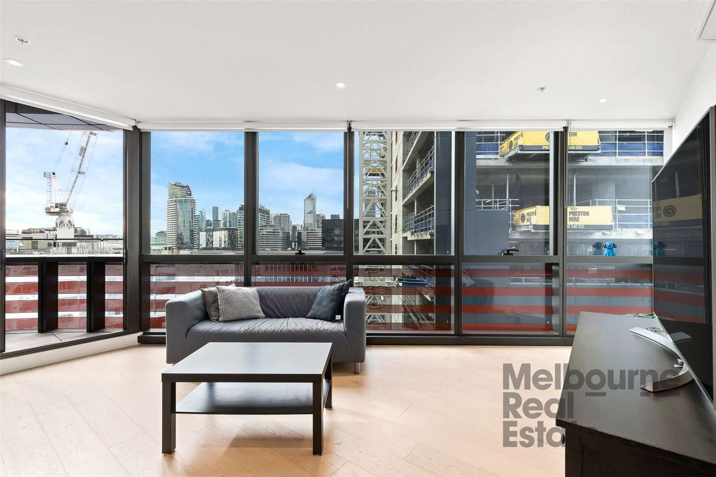 Main view of Homely apartment listing, 1402S/883 Collins Street, Docklands, VIC 3008