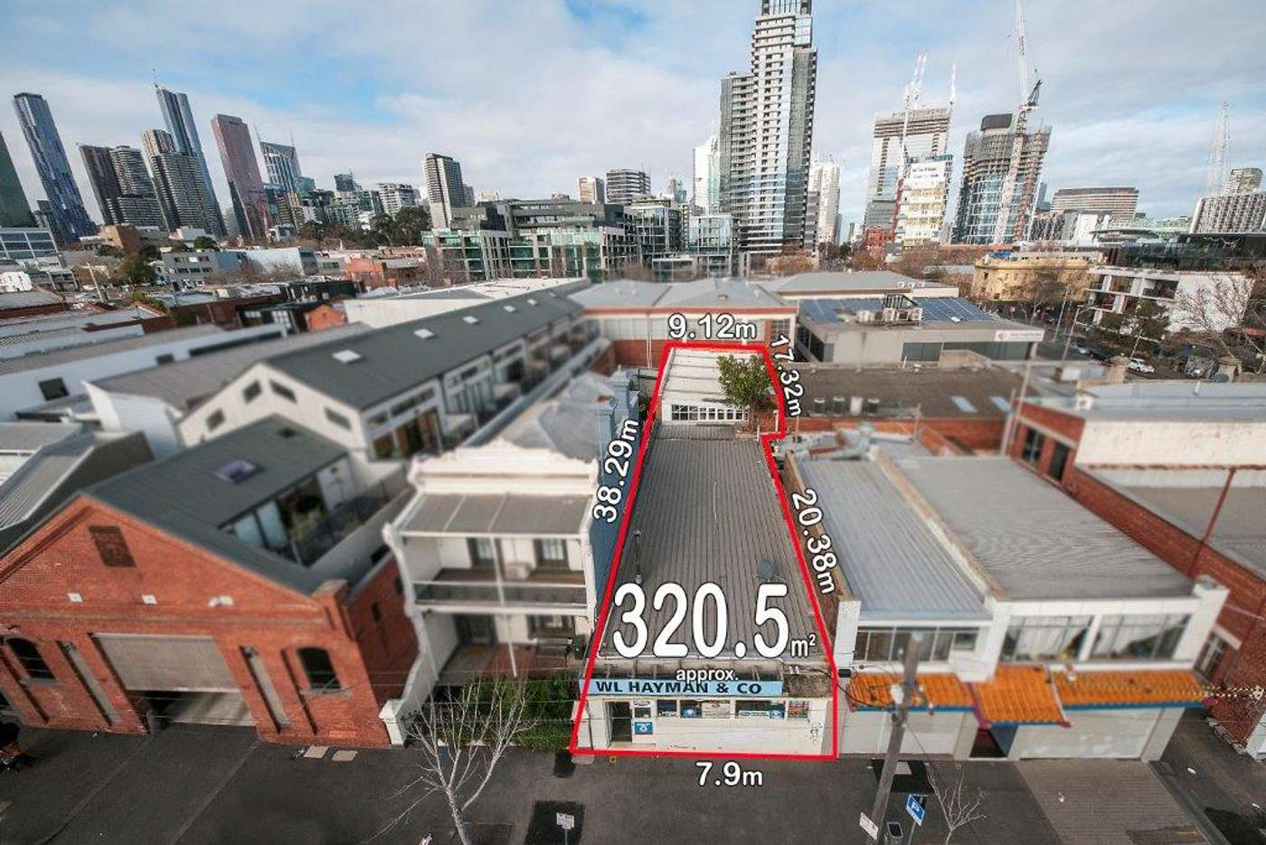 Main view of Homely warehouse listing, 67-69 Stanley  Street, West Melbourne VIC 3003