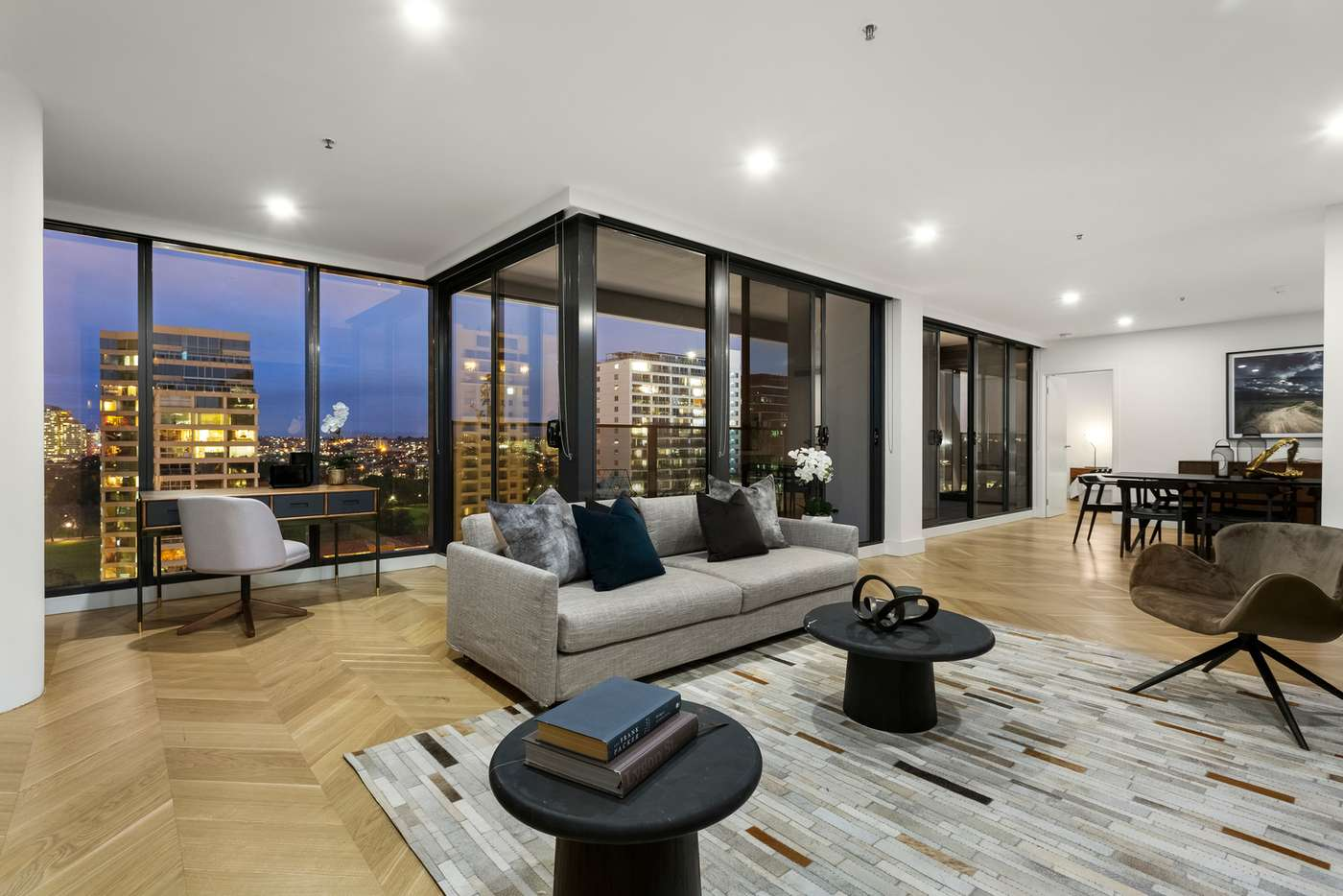 Main view of Homely apartment listing, 1302/478 St Kilda Road, Melbourne, VIC 3004