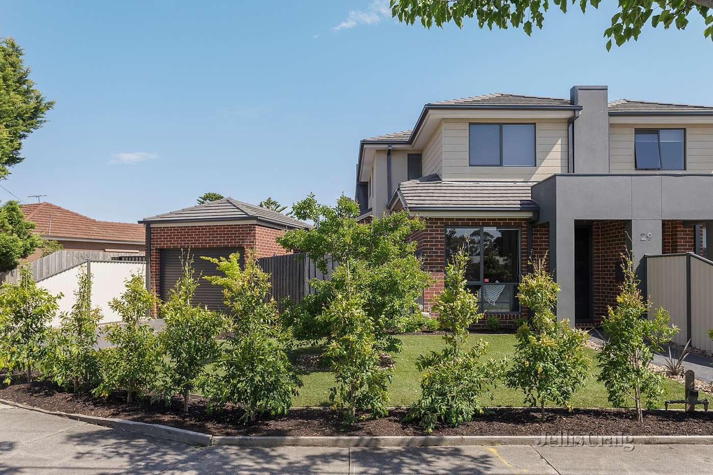 Main view of Homely townhouse listing, 29A Bradshaw Street, Kingsbury, VIC 3083