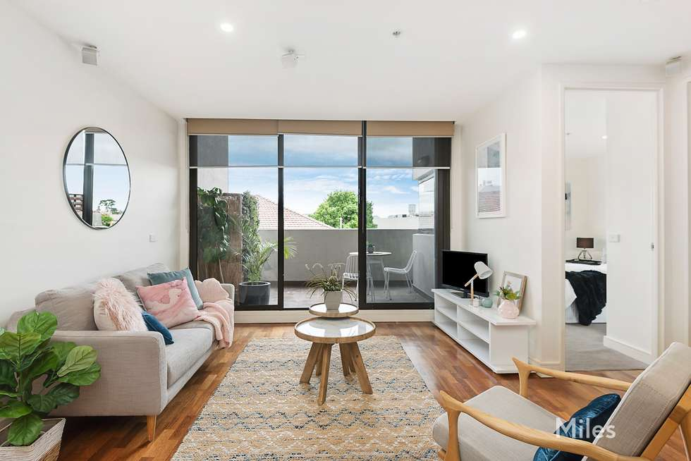 Second view of Homely apartment listing, 106/3 Kiernan Avenue, Ivanhoe VIC 3079